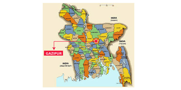 Three killed in Gazipur road mishap
