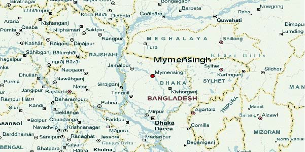 Mymensingh road mishap kills three